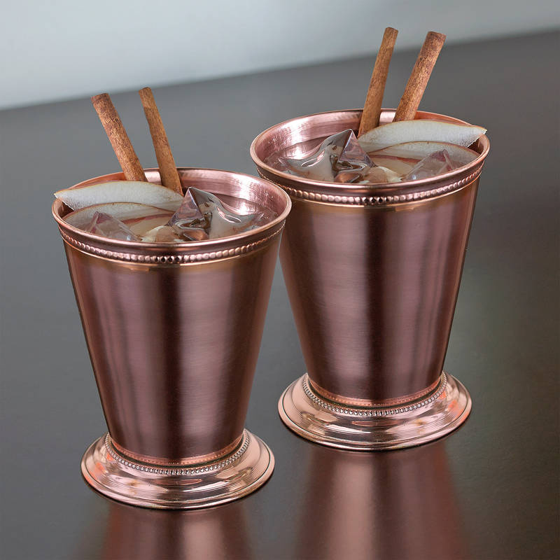 Copper Mint Julep Cups