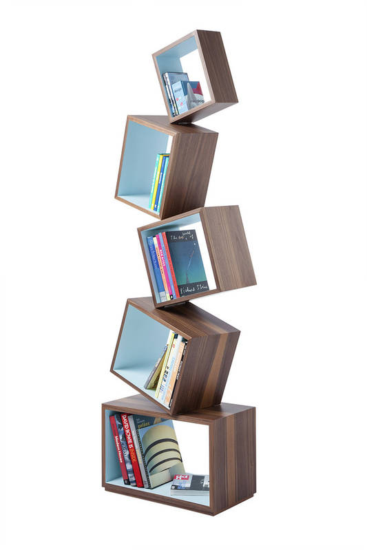 Equilibrium Natural Wood Bookcase