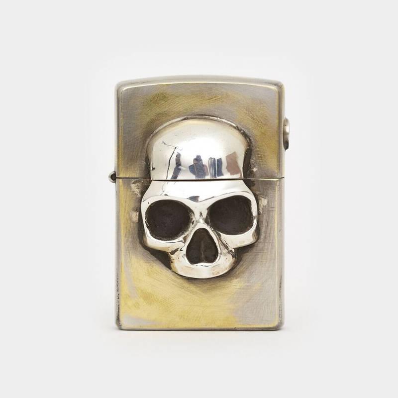 Skull Zippo Lighter