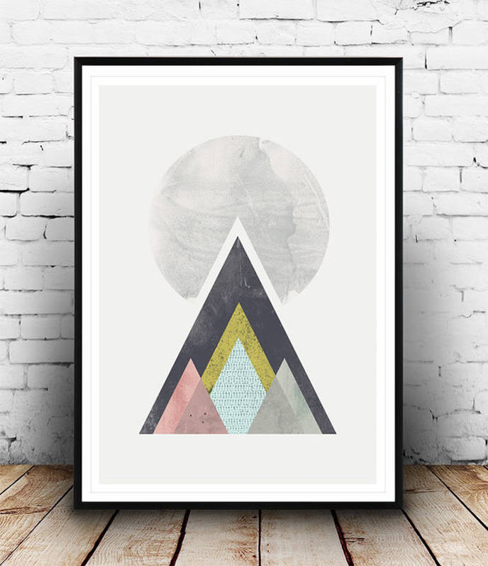 Nordic Mountains print