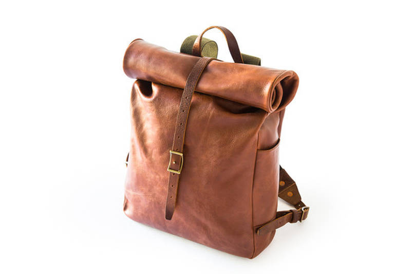 The Roll Top Backpack