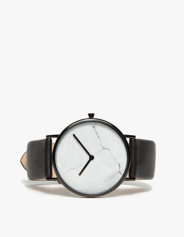 The Horse White Marble Watch