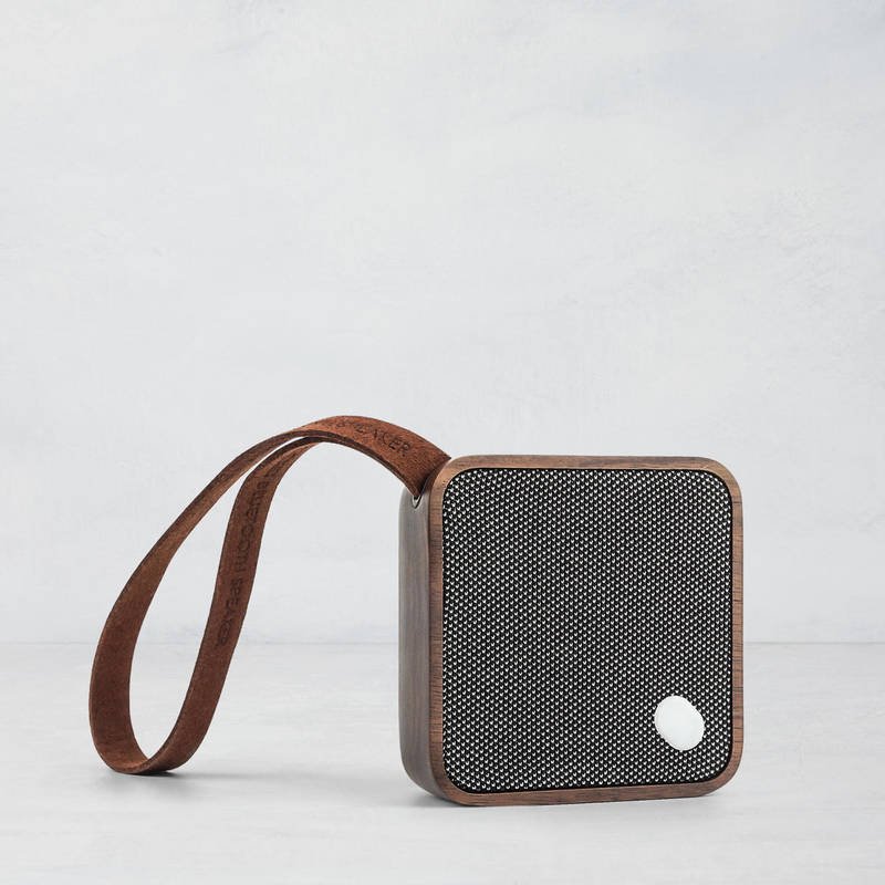 Ginko Walnut Pocket Speaker