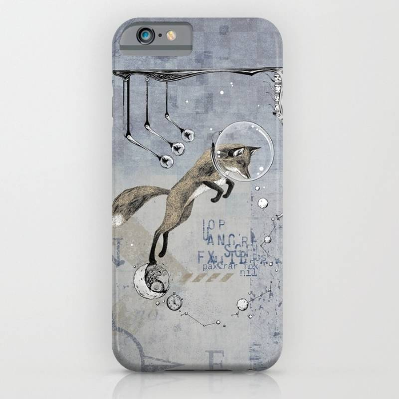Relativity Fox Trot iPhone Case