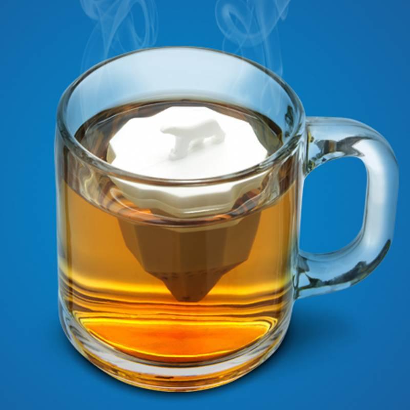 Iceberg tea infuser