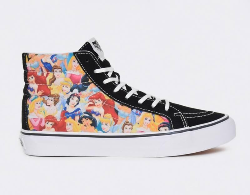 Vans Sk8-Hi Disney Princess