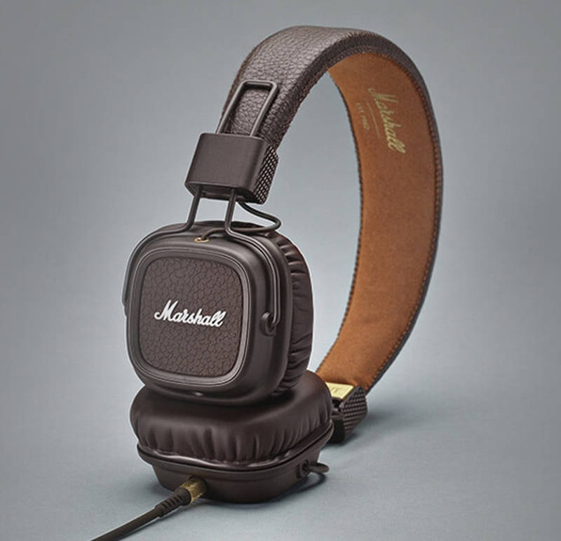 Major II Brown headhones
