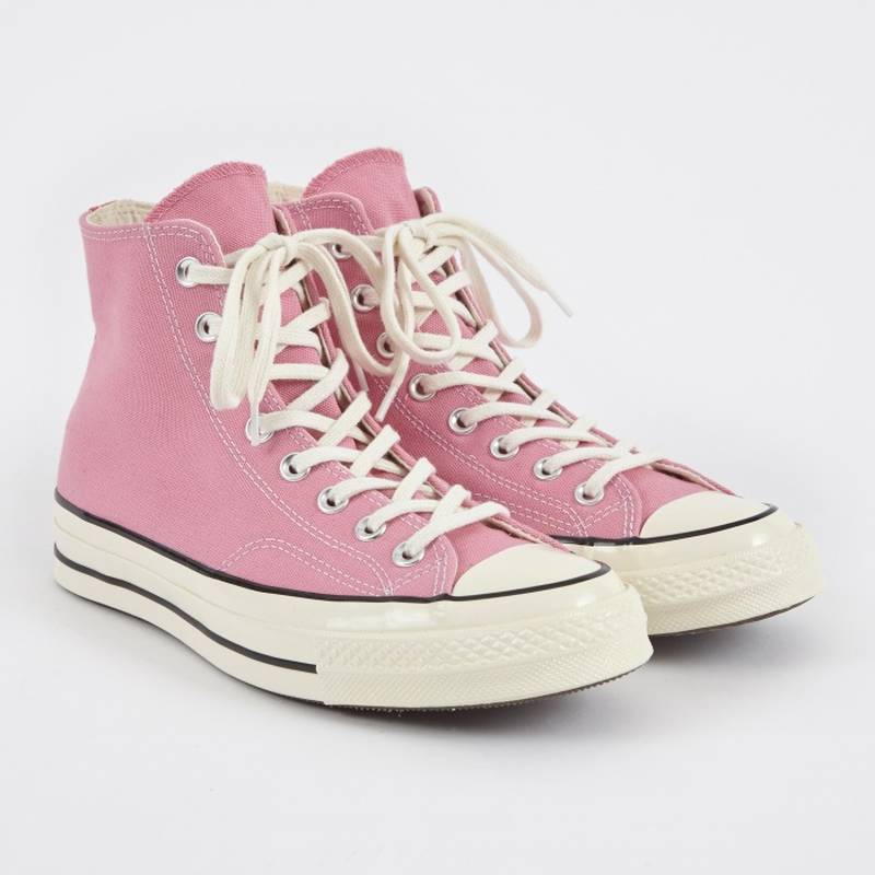 Pink Converse 1970s Chuck Taylor All