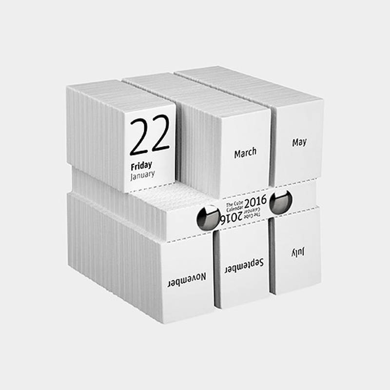 The Cube Calendar