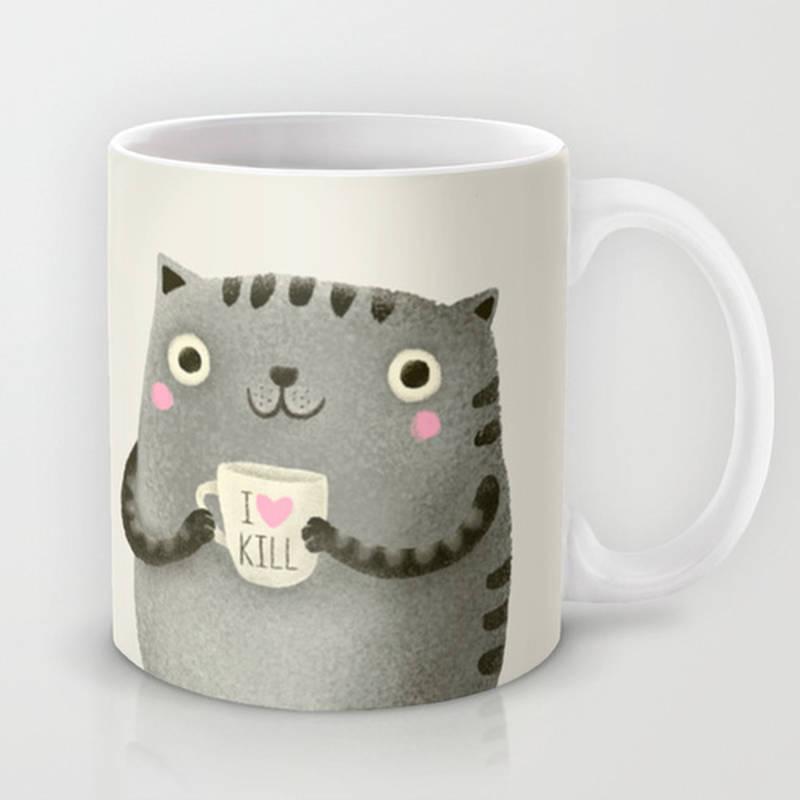 I♥kill Coffee Mug