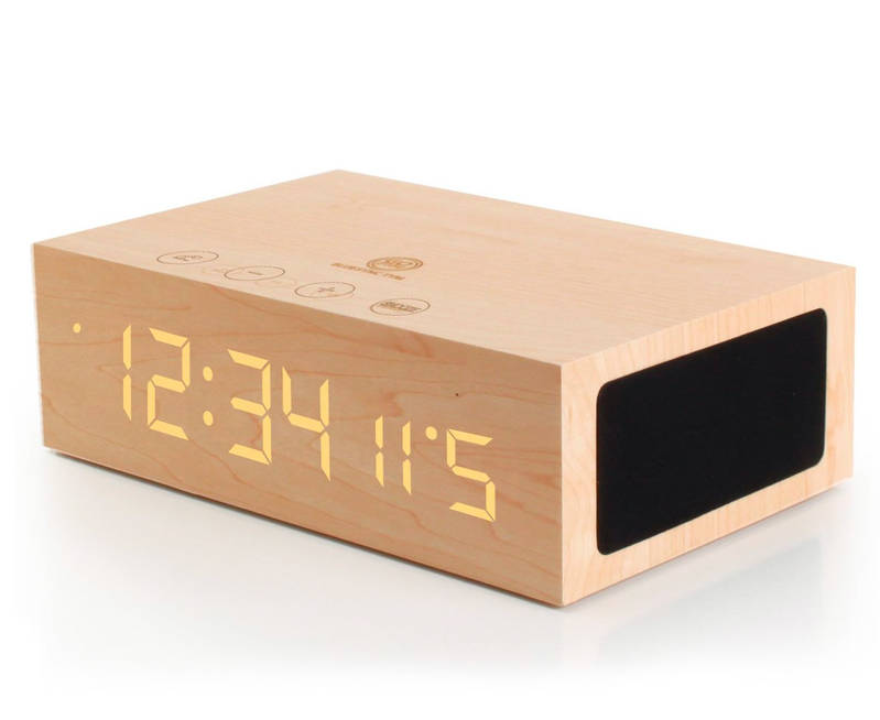 Bluetooth Digital Alarm Clock Speaker