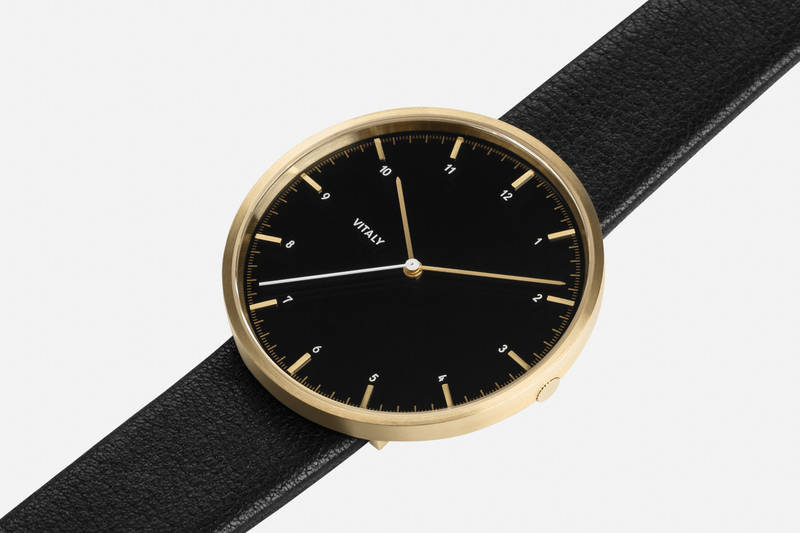 Basel x Brushed Gold Watch