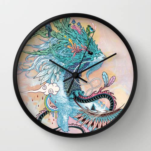 Journeying Spirit Wall Clock