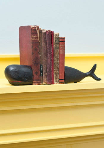 Start to Fin Whale Bookends