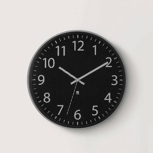Umbra Perftime Wall Clock