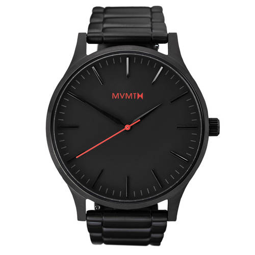 The 40 - Black MVMT Watch
