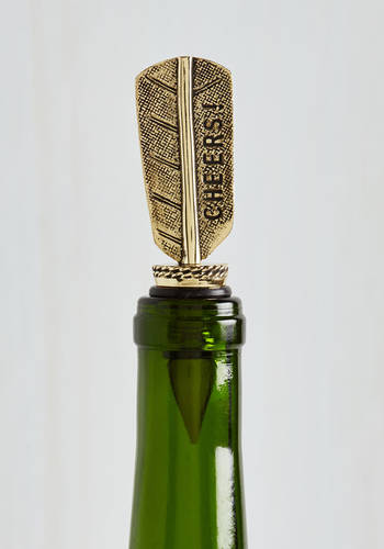 Flow and Arrow Wine Stopper