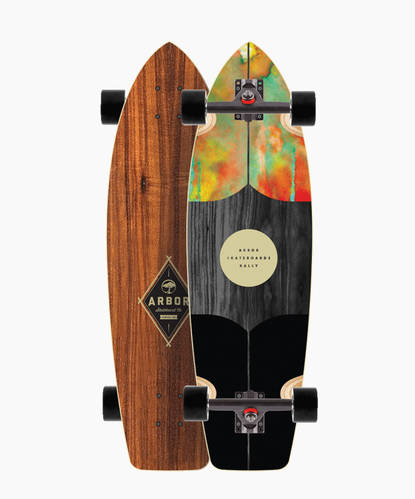 Rally Carve Collection Skateboard