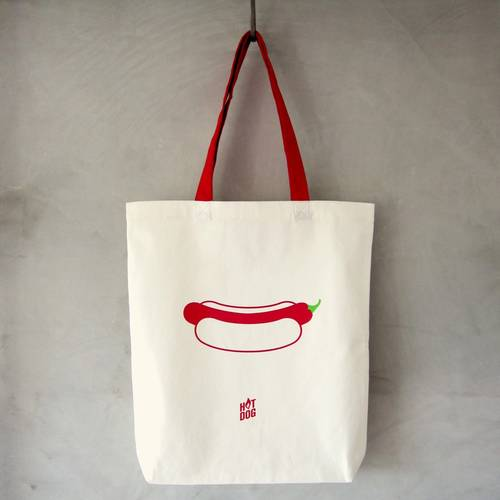 Hot Dogby Tote Bag