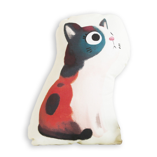 Mix the Cat Cushion