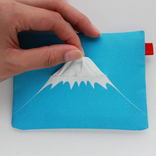 Mount Fuji Tissue Pouch