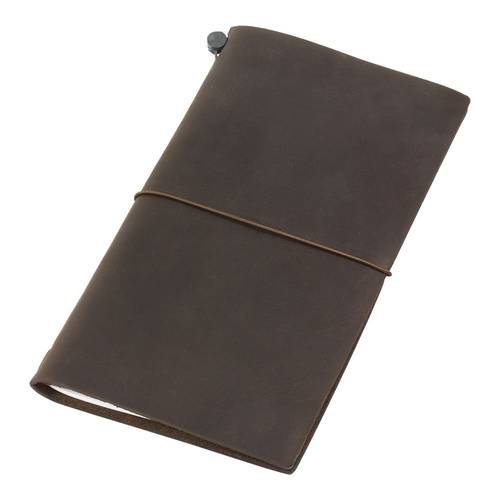 Traveler's Notebook Brown Leather