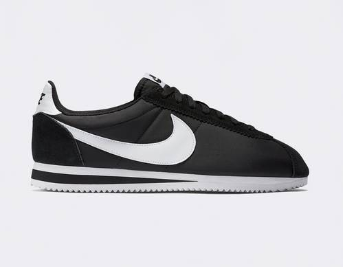 Nike Cortez Nylon Black Sneakers