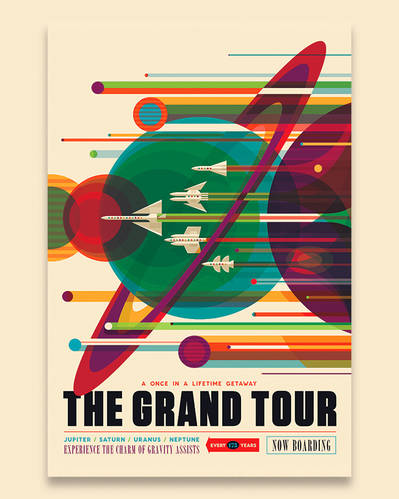 Nasa - The Grand Tour Poster