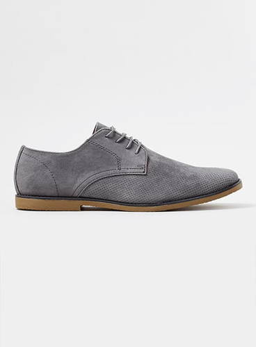 Grey Trigger Desert Shoes