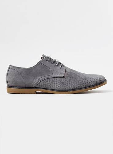Grey Trigger Desert Shoes