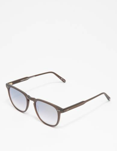 Brooks 47 Matte Espresso/Gold Sunglasses