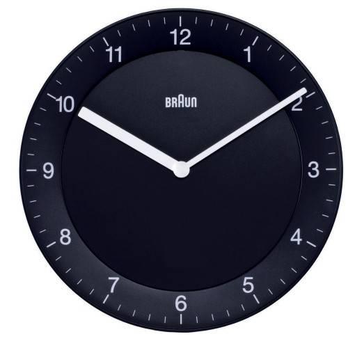 Braun Round Wall Clock
