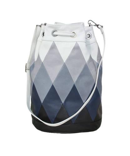 Big Blue Bucket bag