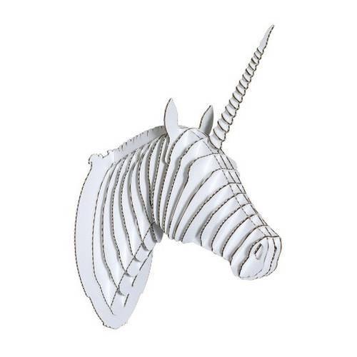 Merlin Cardboard Unicorn Head