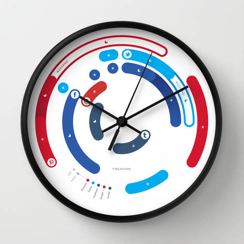 Time2share Wall Clock