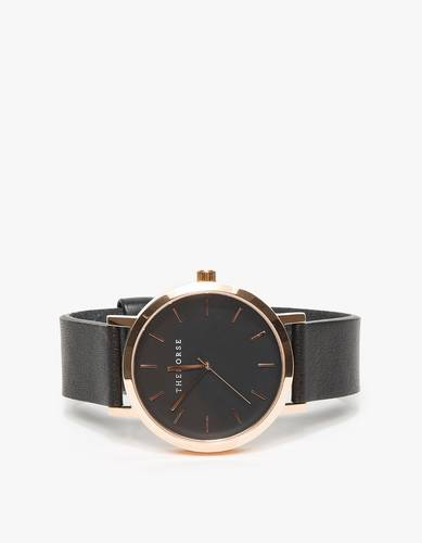 The Horse / Rose Gold/Black Watch