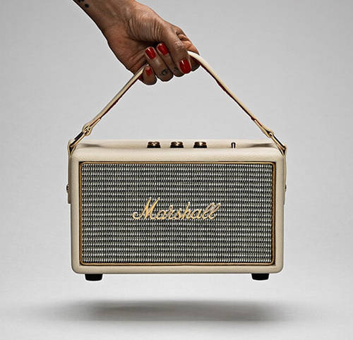 Kilburn Cream Portable Speaker