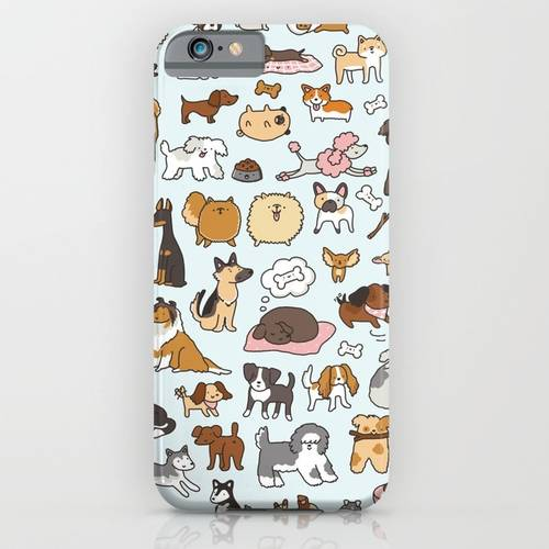 Doggy Doodle iPhone Case