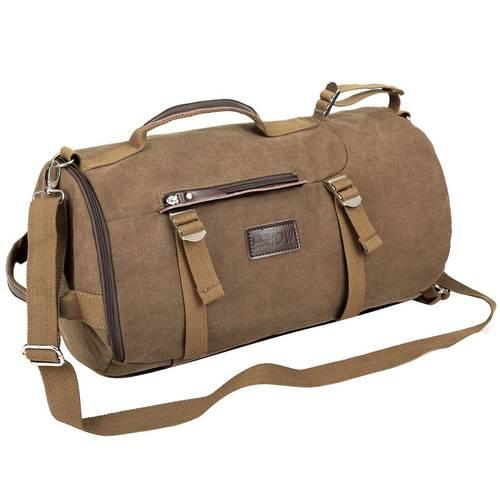Eshow Retro Canvas Duffel Bag