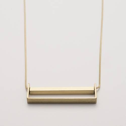 Basic Brass Necklace