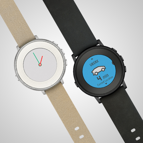 Pebble Time Round Watch