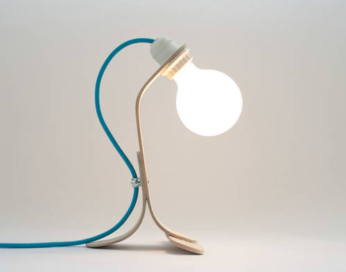 ST wood desk Lamp