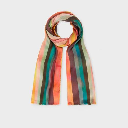 Paul Smith Men's Silk 'Stripe' Scarf