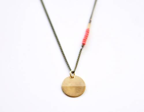 Compass necklace - Love, Edor