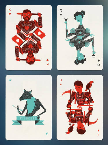 Bloodlines: Custom Playing Cards