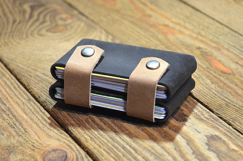 Handcrafted Leather Card Holder