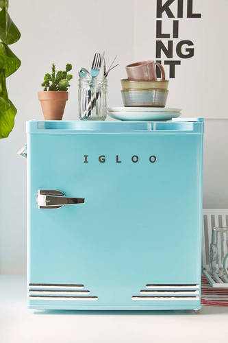 Mini Retro Refrigerator