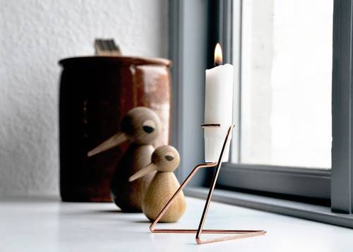 Candle Holder Lystage Copper