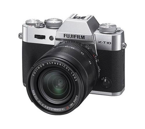 Fujifilm X-T10 in Silver