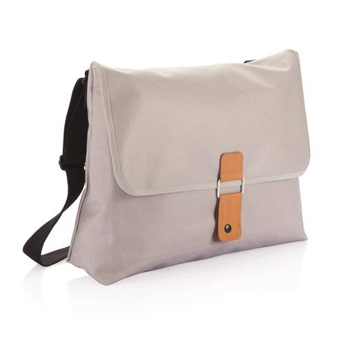 Pure messenger bag - grey